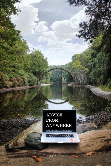 Financial advice from anywhere
